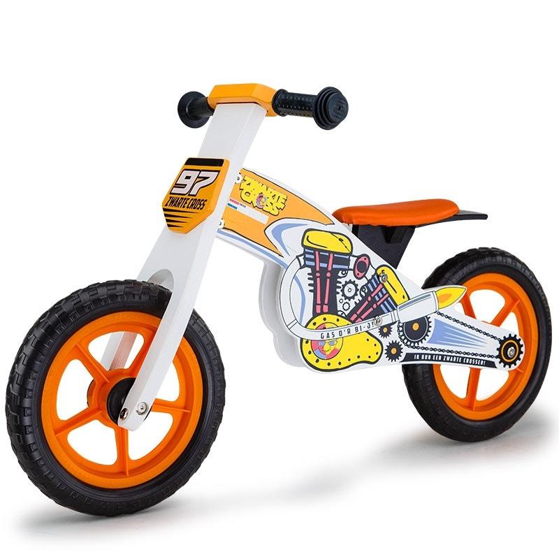 ROVO KIDS Wooden Kids Balance Bike Ride On Toy Push Bicycle Toddler Training
