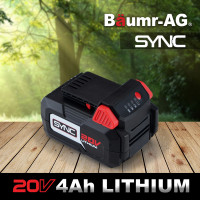 PRE-ORDER Baumr-AG SYNC 20V 4.0Ah Lithium-Ion Replacement or Spare Battery