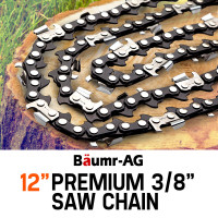 """BAUMR-AG 12"""" Replacement Spare Chainsaw Chain 3/8 .050 Gauge DL 44"""