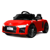 PRE-ORDER Kids Ride-On Car Licensed AUDI R8 SPYDER Battery Electric Toy Remote 12V Red