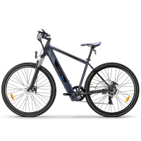 "Nishiro eMTB 36V 250W Shimano Electric Mountain  eBike Battery Bike 29"" Black - MXT"