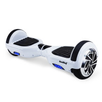 BULLET Hoverboard Scooter Self-Balancing Electric Hover Board White Skateboard