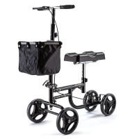 EQUIPMED Knee Walker Scooter Mobility Alternative Crutches Wheelchair