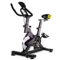 PROFLEX Commercial Spin Bike Flywheel Exercise Fitness Home Gym Yellow