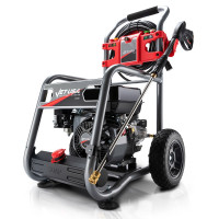 JET-USA 4800PSI Petrol Powered High Pressure Washer w/ 30m Hose and Drain Cleaner - CX760 Gen IV