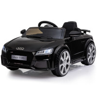 AUDI TT RS Licensed Electric Kids Ride On Car Battery Powered 12V - Black