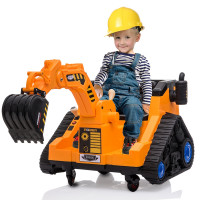 ROVO KIDS Electric Ride On Digger Toy