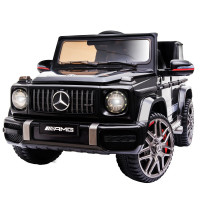 MERCEDES-BENZ AMG G63 Licensed Electric Kids Ride On Car Battery Powered 12V, MP3 Player - Black
