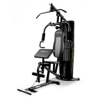 PROFLEX Multi Station Home Gym Set with 98lbs Weight Plates- M8000