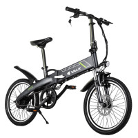"VALK Folding eBike Alloy Frame 36V 250W Electric Bike Battery Black 20"" - Volt"