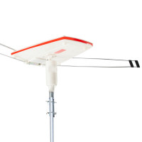 SIMTECH Rotating Digital Outdoor HD TV Antenna with Amplified Signal