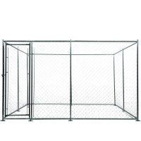 NEATAPET 4x4x1.8m Outdoor Chain Wire Dog Enclosure Kennel