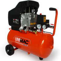 UNIMAC Portable Electric Air Compressor 24L 2HP Direct Drive - ACM-250