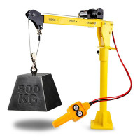 PRE-ORDER T-REX 800kg Electric Hoist Winch Crane 12V 360 Degree Engine Car Truck Lift NEW