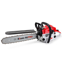 Baumr-AG 52cc Commercial Petrol Chainsaw SX52 w/ Sharpener Pack