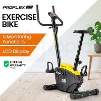 PROFLEX Exercise Bike - Fitness Cycling Bicycle Home Gym Cardio Spin Equipment