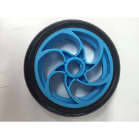 Bullet Electric Scooter Front Wheel (Blue)