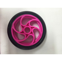 Bullet Electric Scooter Front Wheel (Pink)