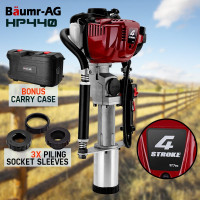 PRE-ORDER Baumr-AG Petrol Post Driver 4-Stroke Pile Star Picket Rammer Fence Star Four