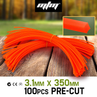 PRE-ORDER MTM Pre-Cut 35cm Trimmer Line Whipper Snipper Cord Brush Cutter Brushcutter Lawn