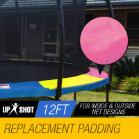 UP-SHOT 12ft Replacement Trampoline Padding - Pads Pad Outdoor Safety Round Multi-Colour