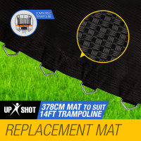 UP-SHOT 14ft Replacement Trampoline Mat - 88 Spring Round Spare Foot Parts