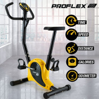 PROFLEX Exercise Bike - Fitness Home Gym Bicycle Trainer Equipment