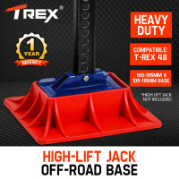 T-REX 4X4 High Lift Jack Base Plate 4WD Off Road Mud Sand Recovery Hi Farm 48""