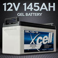 X-CELL GEL Battery 12V 145Ah Portable Sealed