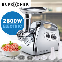 2800W Electric Stainless Steel Meat Grinder Mincer Sausage Filler Kibbe Maker