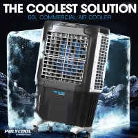 POLYCOOL 4in1 60L 350W Commercial Portable Evaporative Cooler