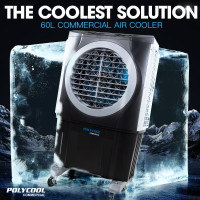 POLYCOOL 3in1 Evaporative Air Cooler Portable Fan Industrial Commercial Workshop