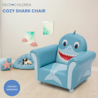 DELTA CHILDREN Kids Furniture Cozy Shark Chair