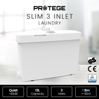 PROTEGE 3 Inlet Slim Macerator Pump for Laundry