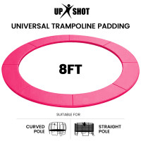 PRE-ORDER UP-SHOT 8ft Replacement Trampoline Safety Pad Padding Pink