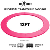 PRE-ORDER UP-SHOT 12ft Replacement Trampoline Safety Pad Padding Pink