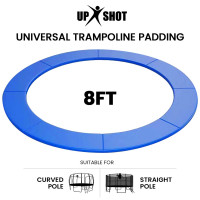 PRE-ORDER UP-SHOT 8ft Replacement Trampoline Safety Pad Padding Blue