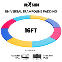 PRE-ORDER UP-SHOT 16ft Replacement Trampoline Safety Pad Padding Multi-Coloured
