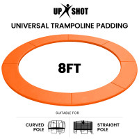 PRE-ORDER UP-SHOT 8ft Replacement Trampoline Safety Pad Padding Orange
