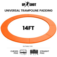 PRE-ORDER UP-SHOT 14ft Replacement Trampoline Safety Pad Padding Orange