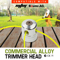 MTM 4 Line Commercial Alloy Trimmer Head Pole Tool Attachment