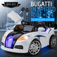 Rovo Kids Bugatti Inspired 12V Electric Kids Ride On Cars