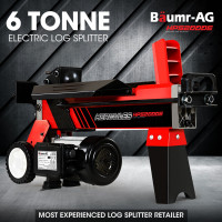 BAUMR-AG 6 Ton Hydraulic Electric Wood Log Splitter