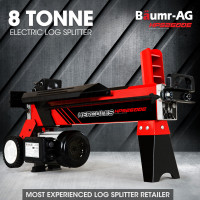 BAUMR-AG 8 Ton Hydraulic Electric Wood Log Splitter