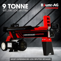 BAUMR-AG 9 Ton Hydraulic Electric Wood Log Splitter