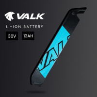 VALK 13Ah 36V Replacement eMTB Electric Mountain Bike eBike Battery Spare Upgrade, Blue Decals