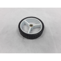 Golf Buggy Complete Front Wheel - White