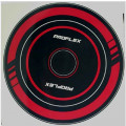 Spin Bike Flywheel Decal - Red