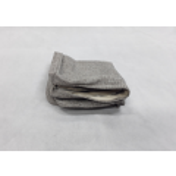 Outdoor Lounge Ottoman Cushion Cover - Medium Grey
