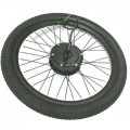 Electric Bike Complete Rear Wheel